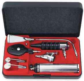 Equipo O.R.L. con Oftalmoscopio